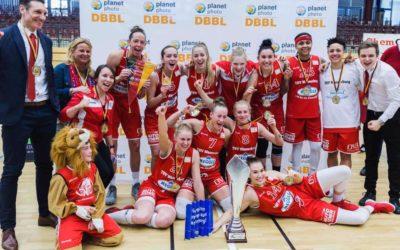 Margaux Galliou Loko remporte la coupe d'Allemagne avec son club Wasserburg