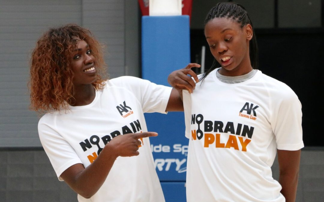 Clarince Djaldi Tabdi et Lorraine Lokoka (UFAB) seront présentes au AK Training Camp 2018 a Brissac-Quince